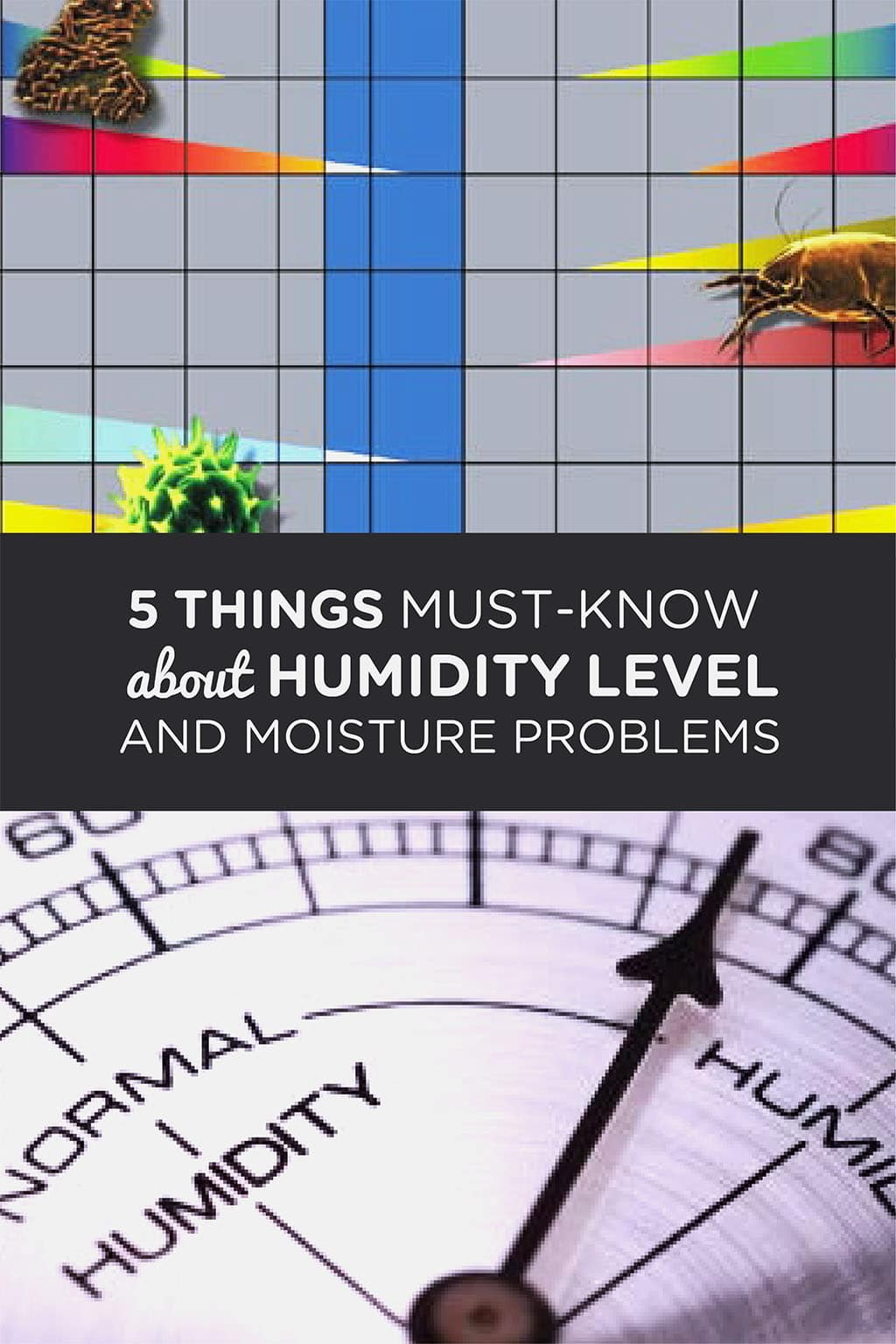 5 things must-know about Humidity Level and Moisture Problems