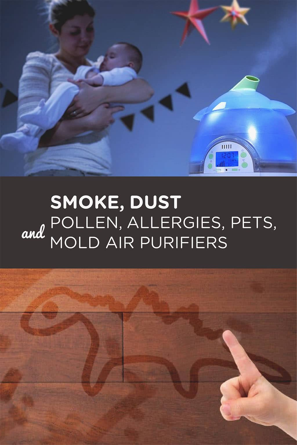 Smoke, Dust and Pollen, Allergies, Pets, and Mold Air Purifiers