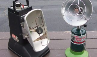 Can you use a propane heater in car