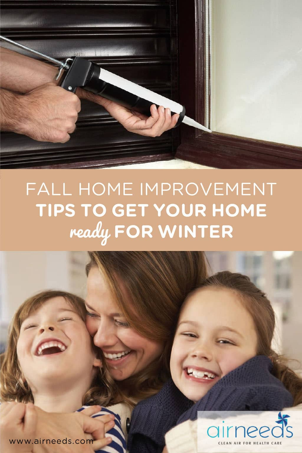 FALL HOME IMPROVEMENT TIPS TO GET YOUR HOME READY FOR WINTER