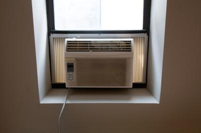 How to vent a portable AC in garage