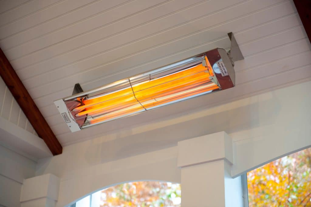 Infrared heater provides you a clean air environment