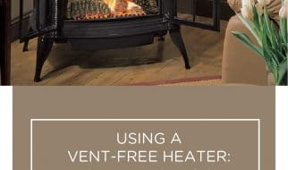 Using a vent-free heater what are the risks and solutions