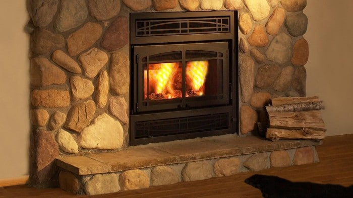 An Environmental Protection Agency (EPA) certified fireplace