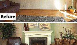 Can an open fireplace behave itself in a tight house?