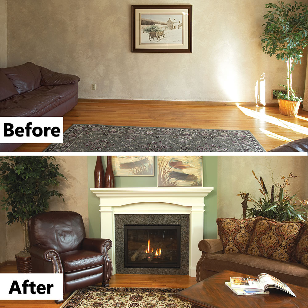 can an open fireplace behave itself in a tight house airneeds