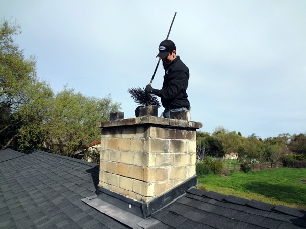 Clean the chimney