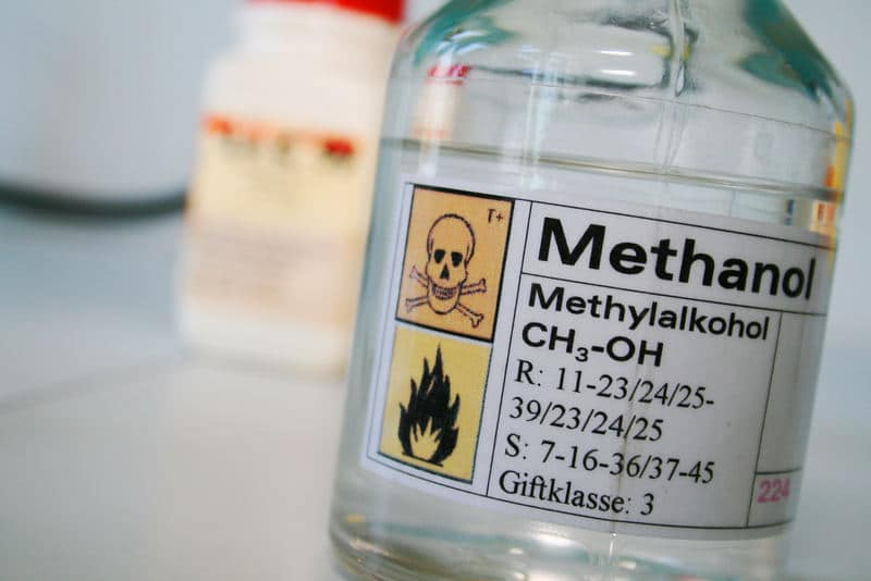 Methanol, alcohol or wood