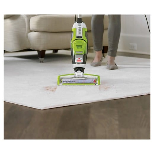 A normal vacuum cleaner is for cleaning dry surfaces only