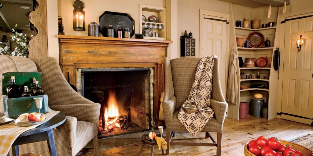 Is the size of a fireplace's viewing area an essential factor