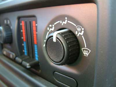 Check the vehicle's cooling and heating system