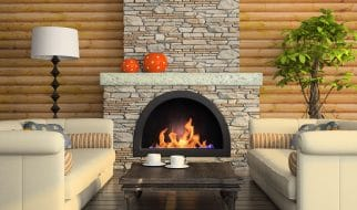 Can a fireplace be added to a house