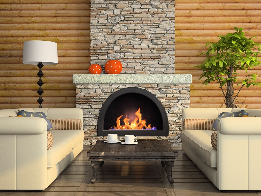 Can a fireplace be added to a house?