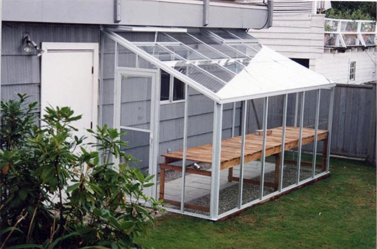 Gothic traditional greenhouse