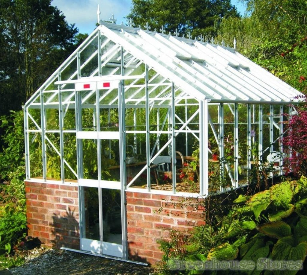 Traditional style greenhouse